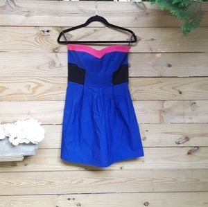 Strapless party dress size large
